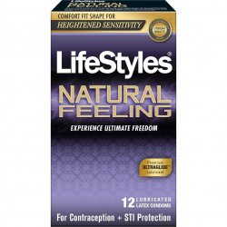 LifeStyles Natural Feeling - 12 Pack Sex Toy