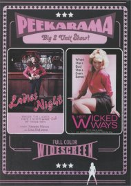 Peekarama: Ladies Night / Wicked Ways porn DVD from Vinegar Syndrome.