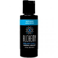 Alchemy Polar Chill Water Based Cooling Lube - 2oz. Sex Toy