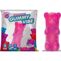 Rock Candy - Gummy Bear 5-function Mini Vibe - Bubblegum Pink Sex Toy