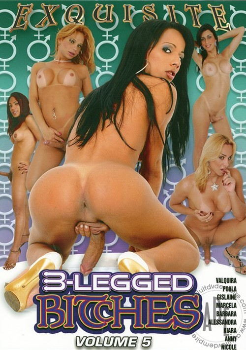 3-Legged Bitches 5 DVD porn movie.