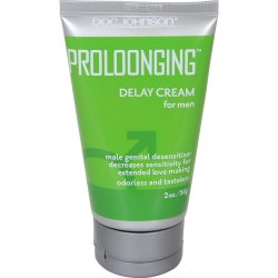 Prolonging Delay Cream For Men - 2oz. Sex Toy