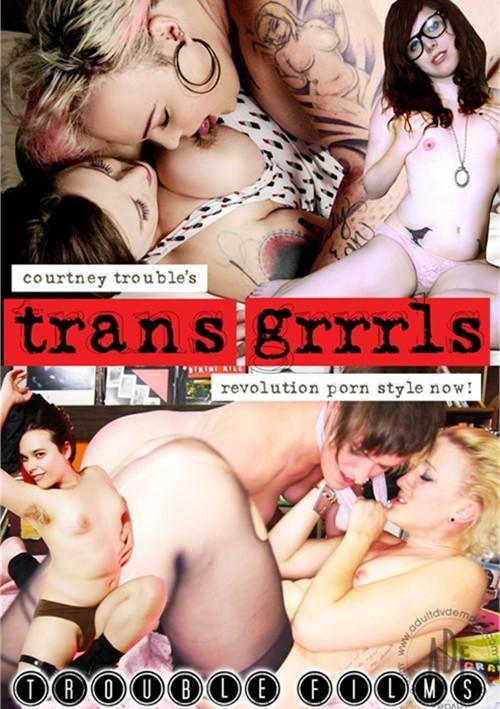 Teen tranny gets messy &
