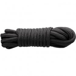 Sinful Nylon Rope 25 ft - Black Sex Toy