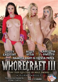 Whorecraft III: Tiny Teen Elfs Take On Huge Swords Porn Movie