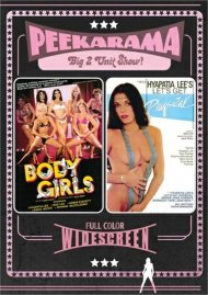 Peekarama: Body Girls / Let's Get Physical porn DVD from Vinegar Syndrome.