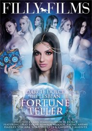 Darcie Dolce: The Lesbian Fortune Teller porn DVD from Filly Films.