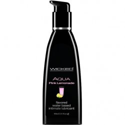 Wicked Aqua Pink Lemonade - 2 oz. lubricant from Wicked Sensual Care.