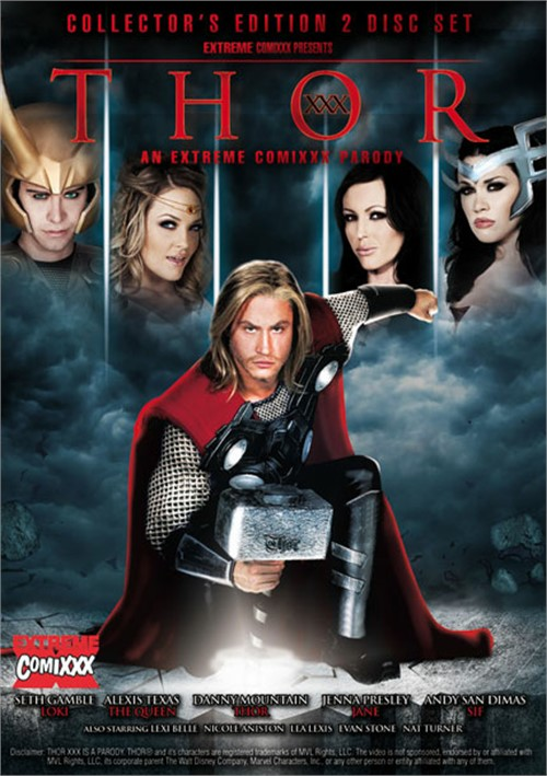 Thor XXX : An Extreme Comixxx Parody