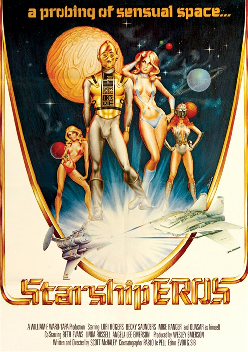 Starship Eros classic porn video from Vinegar Syndrome.