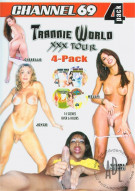 Trannie World XXX Tour 4-Pack Porn Movie