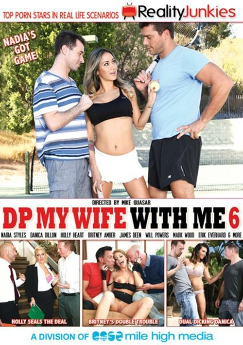 Dp My Wife With Me 6 2014  Adult Dvd Empire-9689
