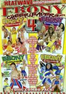 Ebony Cheerleaders 4 Pack Porn Movie
