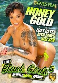I Like Black Girls 5 DVD porn movie from Devil's Film.