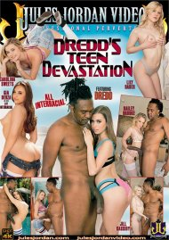 Dredd's Teen Devastation DVD porn movie from Jules Jordan Video.