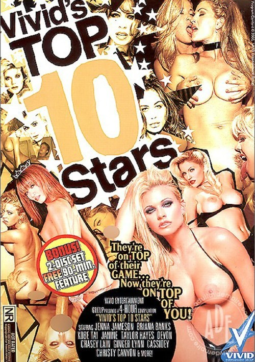Vivids Top 10 Stars