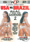 USA Vs Brazil Anal Showdown 2 Boxcover
