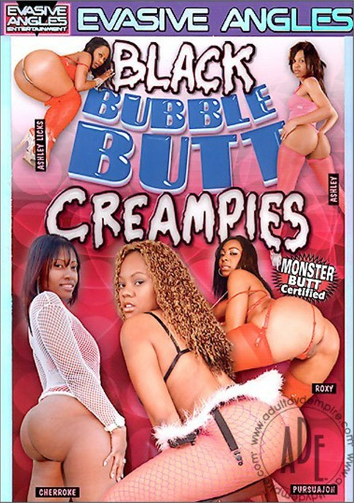 Black Bubble Butt Cream Pie