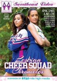 Lesbian Cheer Squad Chronicles porn DVD from Sweetheart Video.