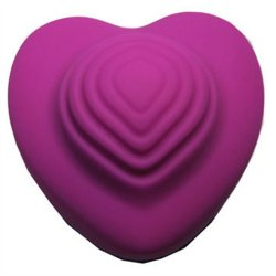 Heart-Throb Rechargeable 10-Function Throbbing Silicone Massager - Plum Sex Toy