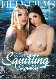 Darcie Dolce's Squirting Stepsisters DVD porn movie from Filly Films.