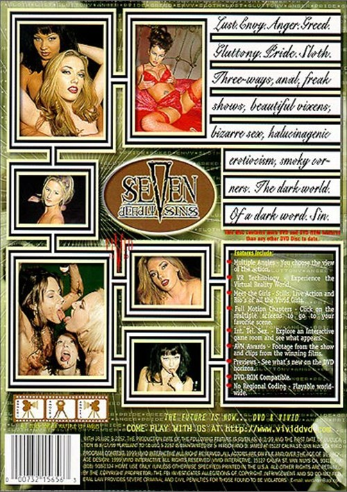 Back cover of Seven Deadly Sins