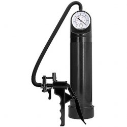 Pumped: Elite Pump with Advanced PSI Gauge - Black Sex Toy