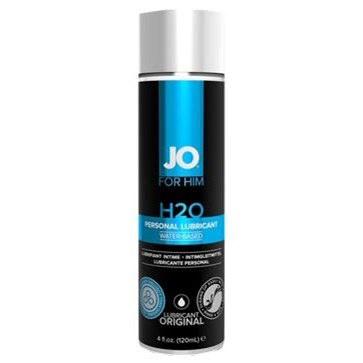JO H2O for Him - 4 oz. lubricant.