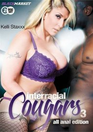Interracial Cougars 3: All Anal Edition Porn Video