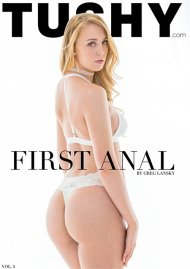 First Anal Vol. 5 porn DVD from Tushy.
