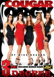 Cougar Orgy DVD porn movie from Third Degree Films.