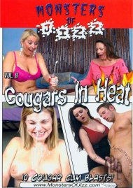 Monsters Of Jizz Vol. 8: Cougars In Heat Porn Video