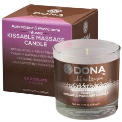 Dona Kissable Massage Candle - Chocolate Mousse - 4.75oz. Sex Toy
