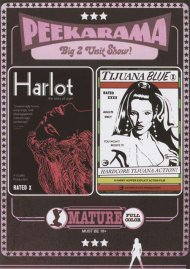 Peekarama: Harlot / Tijuana Blue porn DVD from Vinegar Syndrome.