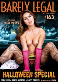 Barely Legal #163: Halloween Special porn DVD from Hustler.