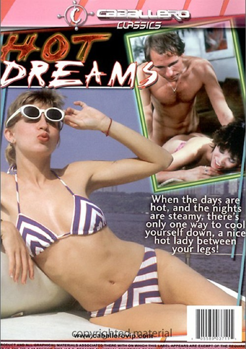 Back cover of Hot Dreams
