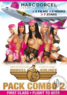 Dorcel Airlines Double Feature: First Class and Flight To Ibiza Porn Video
