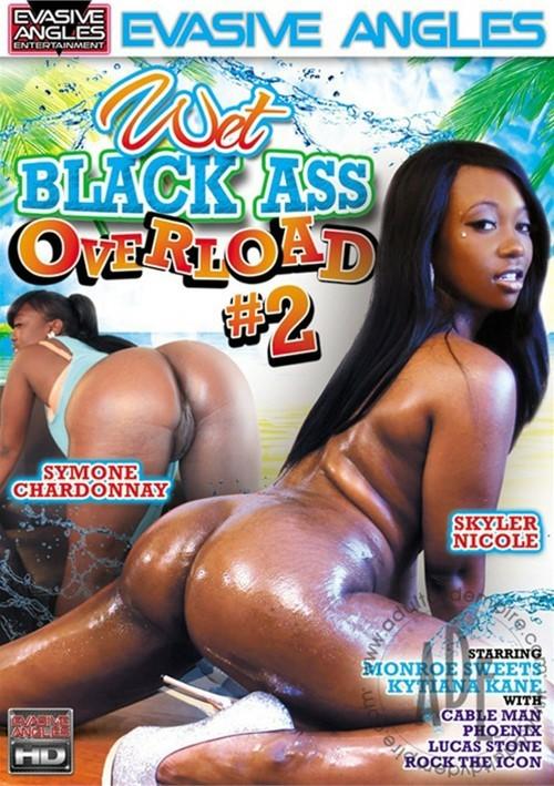 Wet black ass pic