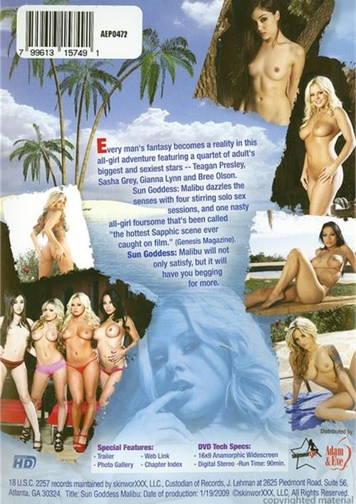 Sasha Grey, Teagan Presley, Bree Olson & Gianna Lynn Sun Goddess Malibu
