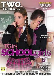 TGirl Schoolgirls Vol. 2 HD porn video from Two TGirls.