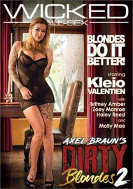 Axel Braun's Dirty Blondes 2 porn DVD from Wicked.