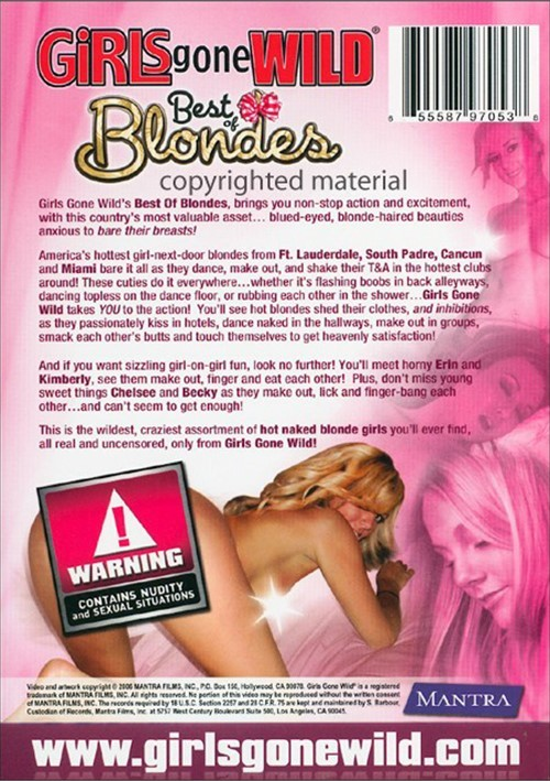 Girls gone wild best of blondes