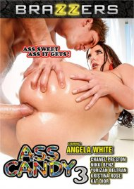 Ass Candy 3 DVD porn movie from Brazzers.