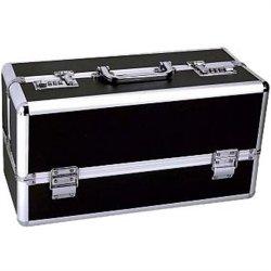 Lockable Sex Toy Storage Case - Black - Large Sex Toy