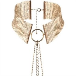 Bijoux Indiscrets: Desir Metallique Collar - Gold Sex Toy