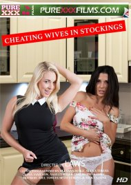 Cheating Wives in Stockings Porn Video