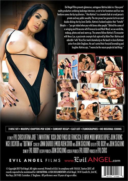 Back cover of I Am Katrina
