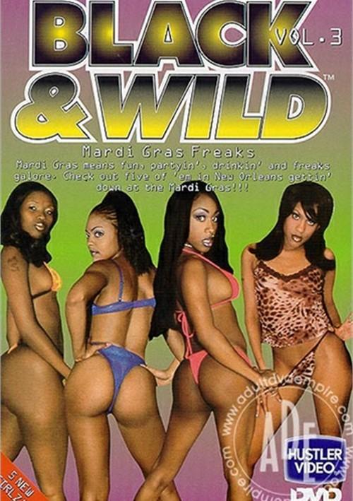 Wild black porno
