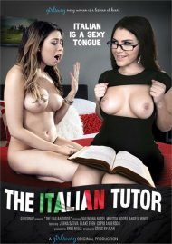 The Italian Tutor DVD porn movie from Girlsway.