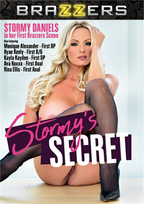 Stormy Daniels stars in Stormy's Secret DVD porn movie.